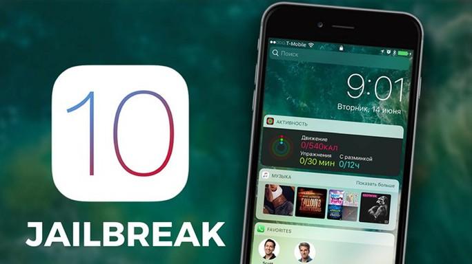Người dùng đã có thể jailbreak iOS 10 để tải các ứng dụng từ Cydia.