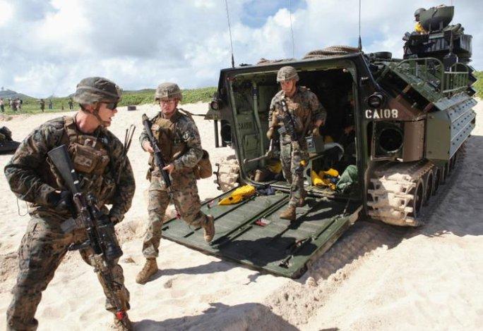 Chính quyền Tổng thống Obama không chủ trương tăng số lượng binh sĩ. Ảnh: Reuters