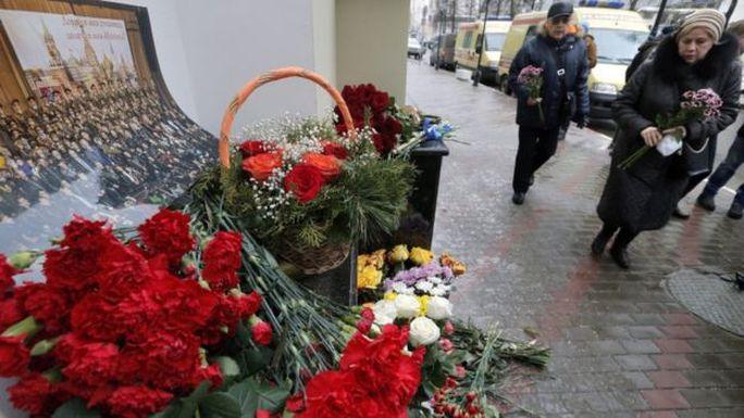 Tưởng niệm các nạn nhân tại Sochi. Ảnh: EPA