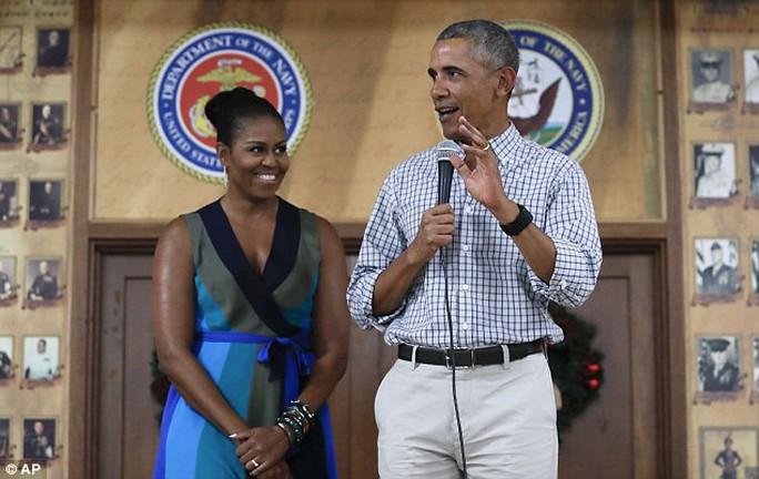 Tổng thống Obama tự tin ông có thể chiến thắng nếu tái tranh cử. Ảnh: AP