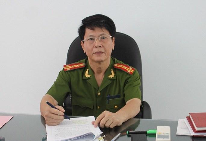 Đại tá Phạm Phúc, trưởng Phòng Kỹ thuật Hình sự CA Đà Nẵng.