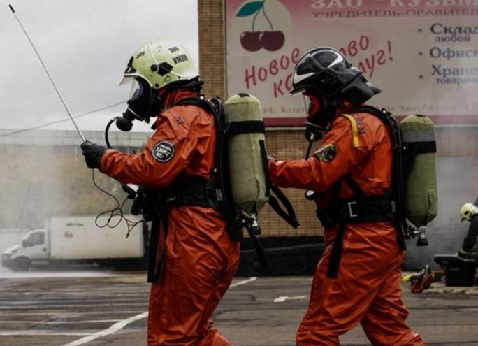 40 triệu người Nga tham gia cuộc diễn tập phòng vệ dân sự toàn quốc trong tháng 10. Ảnh: SNOPES.COM
