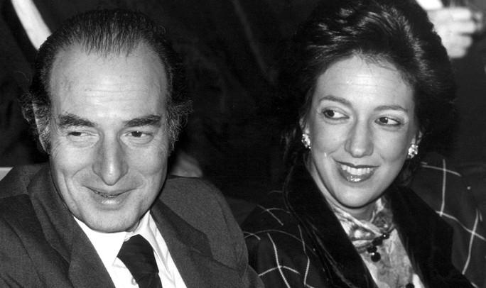 Ông Marc Rich và vợ cũ - bà Denise Rich Ảnh: AP