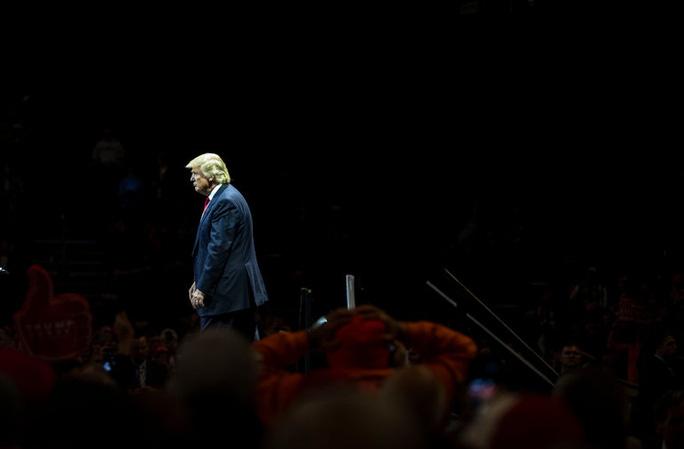 Ông Donald Trump Ảnh: THE NEW YORK TIMES