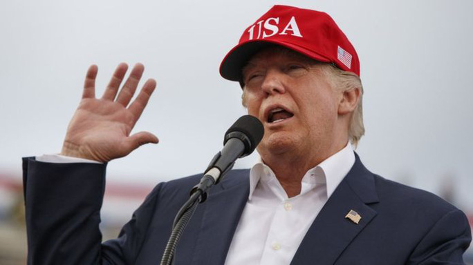 Tổng thống đắc cử Mỹ Donald Trump kêu gọi tăng cường năng lực hạt nhân của Mỹ. Ảnh: AP