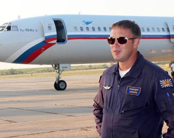 Anh Roman Volkov, 35 tuổi. Ảnh: Daily Mail