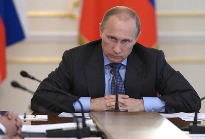 Ông Putin khẳng định Nga sẽ không hạ mình bằng những hành động ngoại giao thiếu trách nhiệm. Ảnh: Reuters