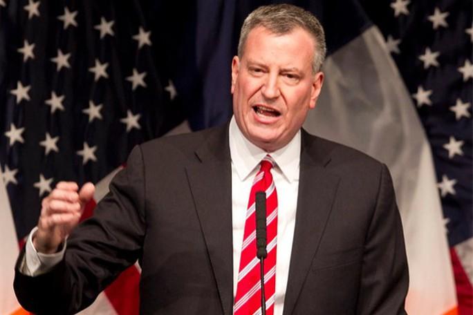 Thị trưởng TP New York Bill de Blasio Ảnh: REUTERS