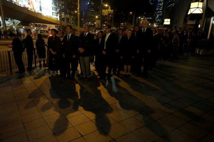 Đây là lần thứ tư các luật sư Hồng Kông xuống đường kể từ năm 1997. Ảnh: REUTERS
