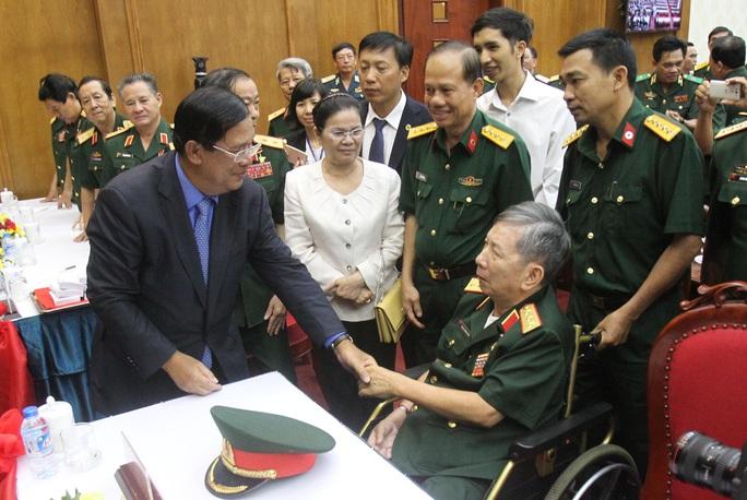 Nhân dịp kỷ niệm 72 năm Ngày thành lập Quân đội nhân dân Việt Nam, ông Hun Sen chúc quân đội Việt Nam tiếp tục phát triển. Ảnh: H.TRIỀU