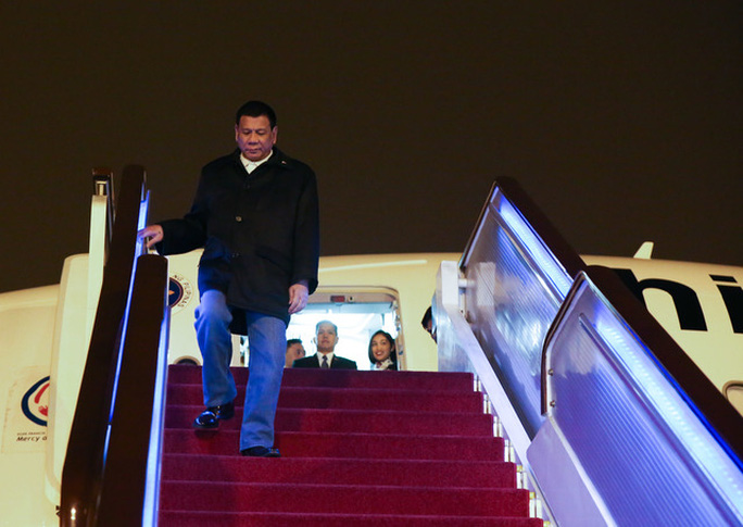Tổng thống Philippines Rodrigo Duterte. Ảnh: Văn phòng Tổng thống Philippines