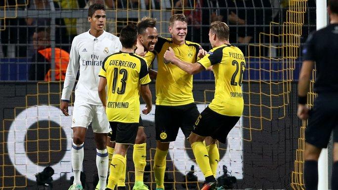 Dortmund là đối thủ khó chịu với Real Madrid Ảnh: REUTERS