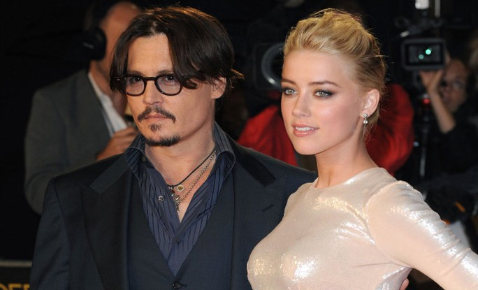 Johnny Depp và Amber Heard