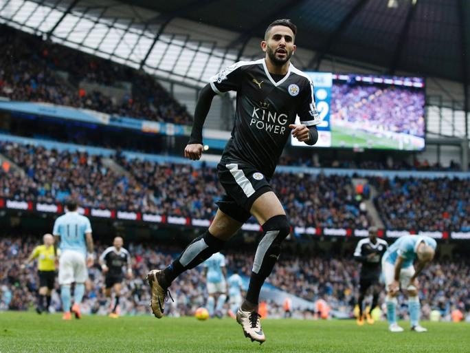 Mahrez mùa trước từng giúp Leicester phá lưới Man City Ảnh: REUTERS