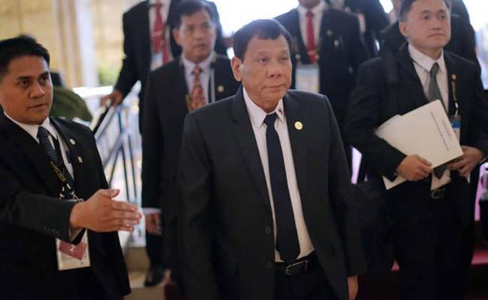 Tổng thống Duterte. Ảnh: NDTV