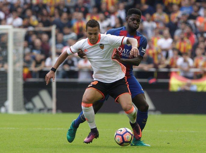Rodrigo Moreno đưa Valencia vượt lên trước 2-1