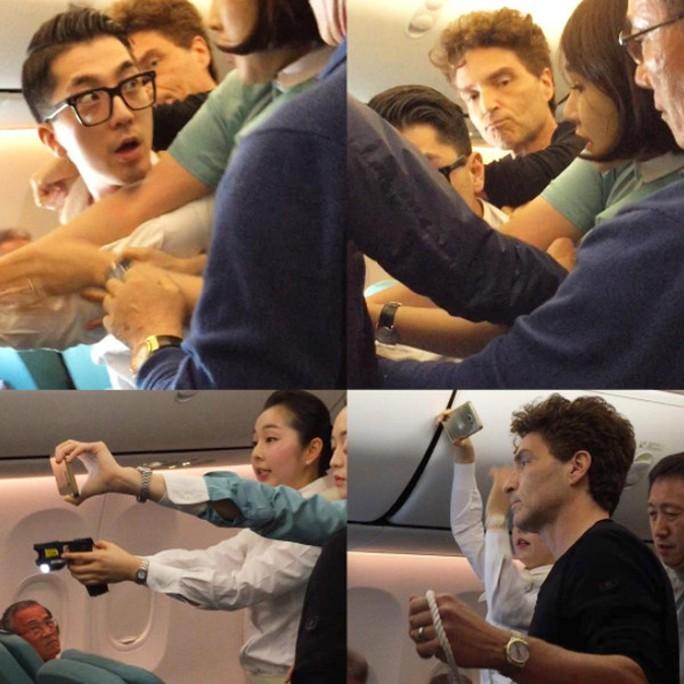 Richard Marx hỗ trợ các tiếp viên khống chế kẻ gây rối trên chuyến bay từ VN đến Hàn Quốc