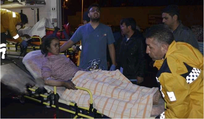 12 người thiệt mạng và ít nhất 22 người bị thương trong vụ cháy. Ảnh: SCMP