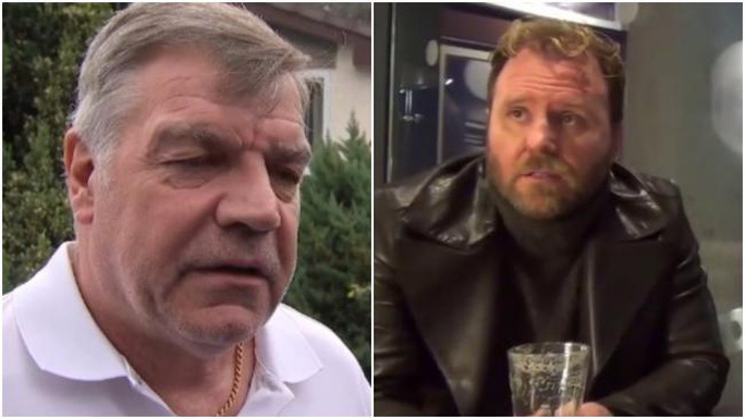 Sam Allardyce và Scott McGarvey