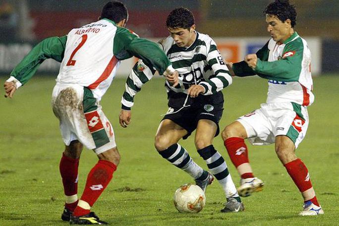 Ronaldo những ngày đầu ở Sporting Lisbon