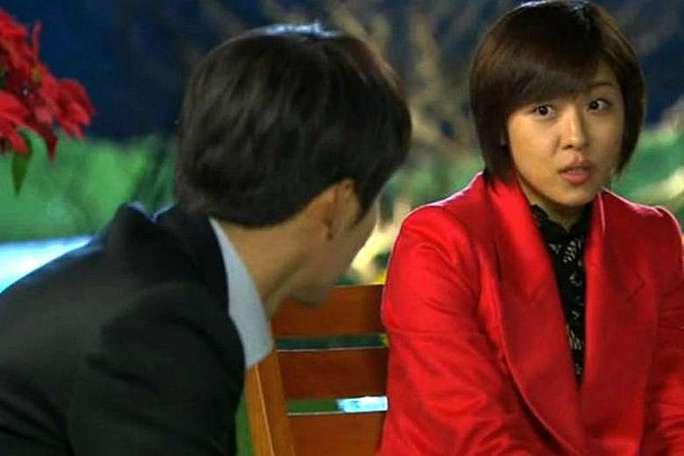 Ha Ji Won trong phim Khu vườn bí mật