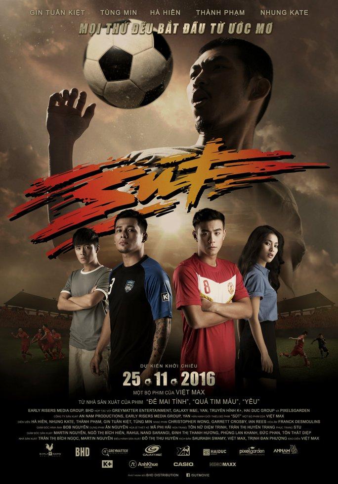 Poster quảng bá phim Sút