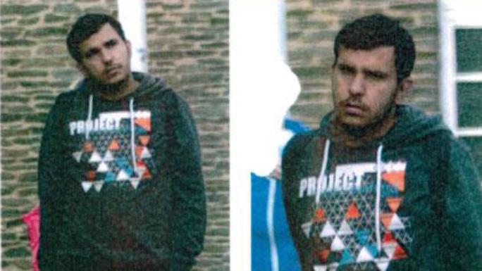 Chân dung nghi phạm al-Bakr. Ảnh: Sky News