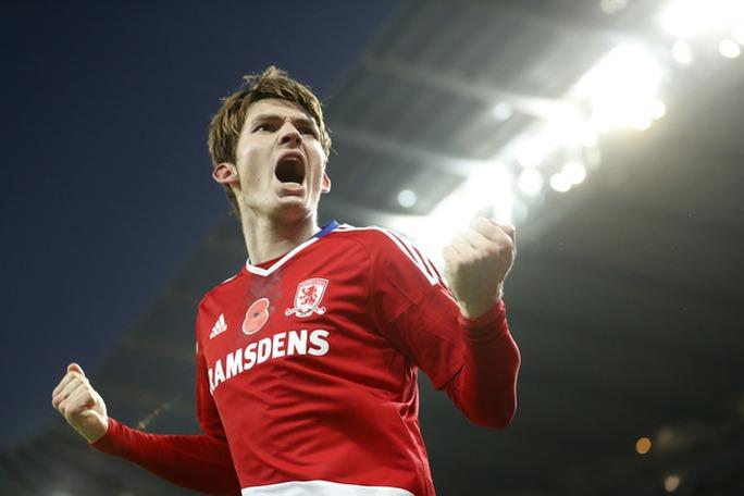 De Roon ghi bàn cho Middlesbrough ở phút 90+2