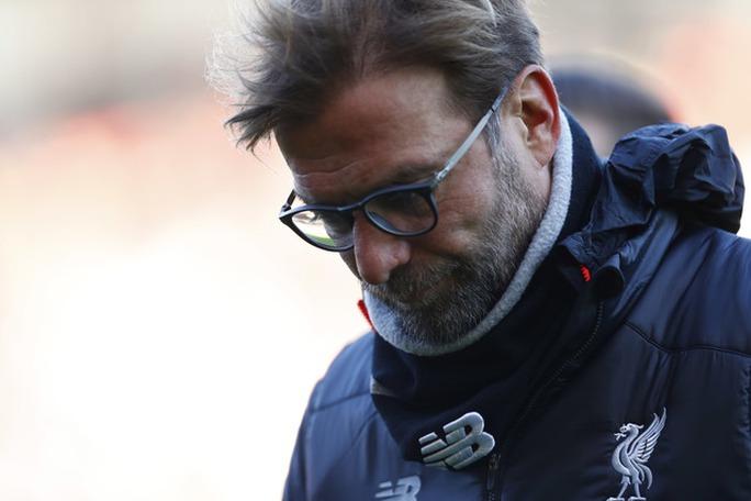 HLV Klopp của Liverpool không ngờ chiến thắng lại vuột khỏi tay nhanh đến vậy