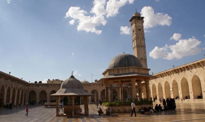 Nhà thờ Hồi giáo Umayyad ngày 6-10-2010. Ảnh: Reuters