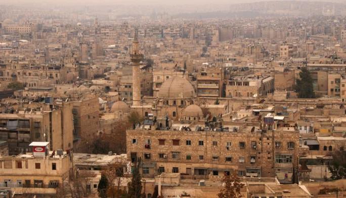 Toàn cảnh Aleppo trước khi nội chiến xảy ra. Ảnh chụp vào ngày 11-12-2009. Ảnh: Reuters