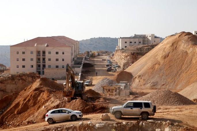 Nghị quyết yêu cầu Israel chấm dứt hoạt động xây dựng khu tái định cư của LHQ đã được thông qua sau khi Mỹ bỏ phiếu trắng. Ảnh: Reuters