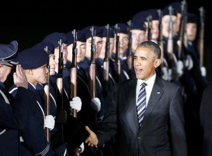 Đây là chuyến công du châu Âu cuối cùng của ông Obama. Ảnh: Reuters