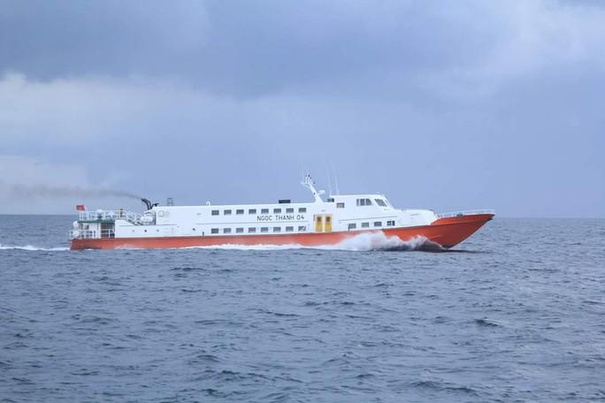 Thêm 2 tàu cao tốc ra và vào Phú Quốc trong ngày 24- 11