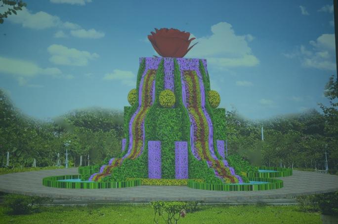 Thác hoa này sẽ được đăng ký kỷ lục Việt Nam trong thời gian tới.