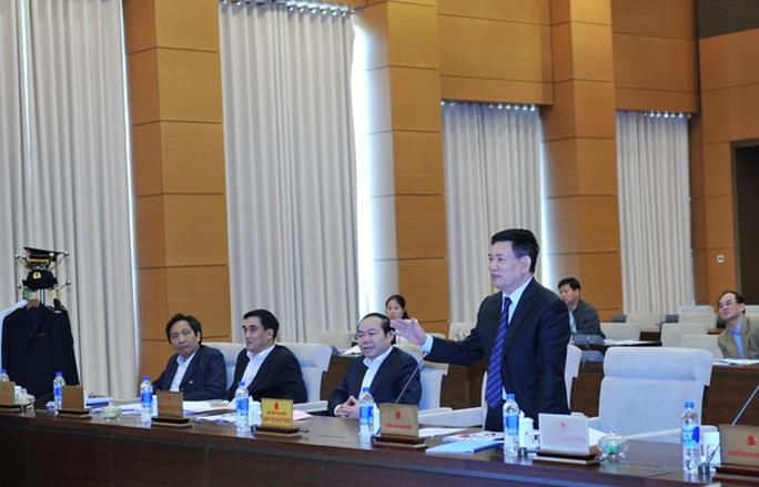 Tổng KTNN Hồ Đức Phớc nêu đề xuất về việc tăng lương. Ảnh: kiemtoannn.gov.vn