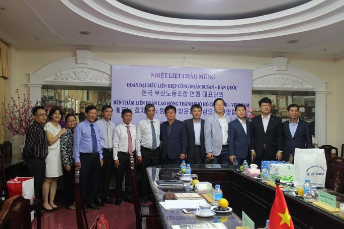 LĐLĐ TP HCM tiếp đoàn Liên hiệp Công đoàn TP Busan - Hàn Quốc