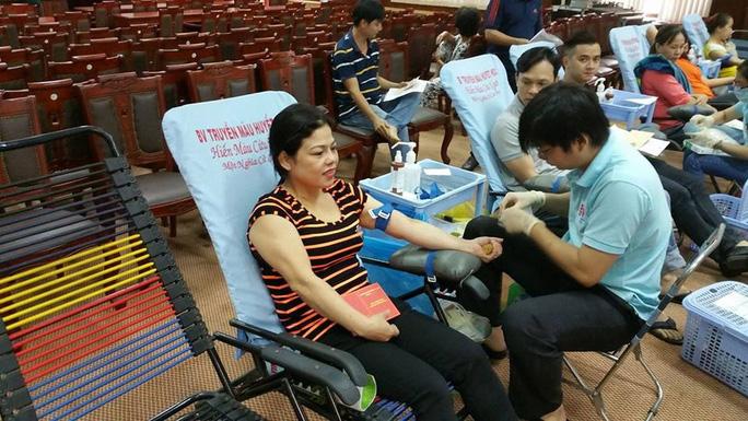 CNVC-LĐ Công ty TNHH MTV Dược Sài Gòn tham gia hiến máu nhân đạo