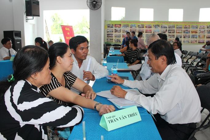 CNVC-LĐ được tư vấn tại ngày hội