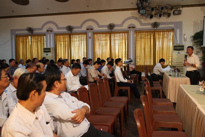 Cán bộ Công đoàn tham gia hội nghị tập huấn