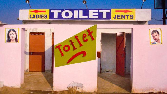 Một nhà vệ sinh công cộng ở Ấn Độ. Ảnh: BY-NC-SA