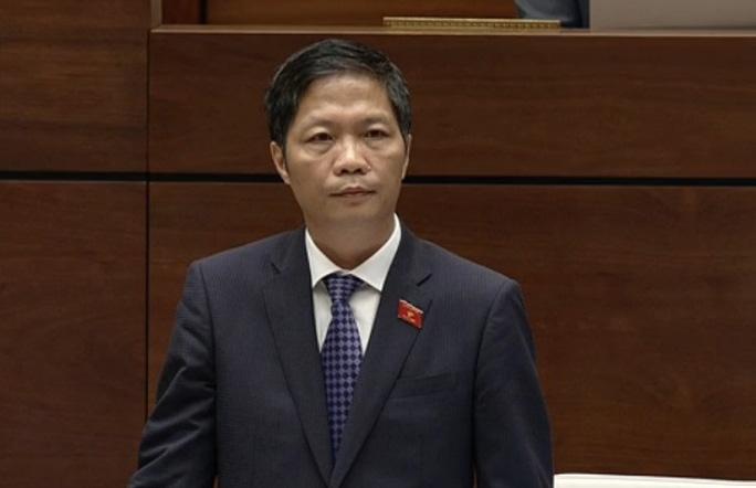 Bộ trưởng Công Thương Trần Tuấn Anh trả lời chất vấn của đại biểu Quốc hội - Ảnh chụp qua màn hình