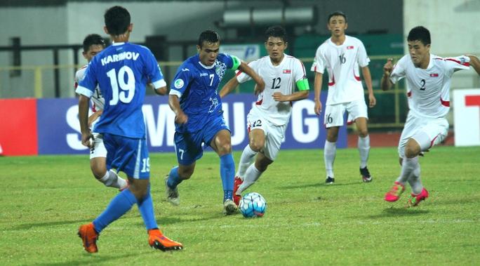 U16 CHDCND Triều Tiên thi đấu hời hợt, thậm chí bị nghi ngờ bán độ khi gặp U16 Uzbekistan