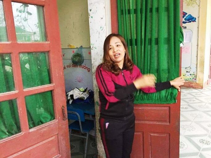 Cô Nguyễn Thị Hoàn kể lại sự việc