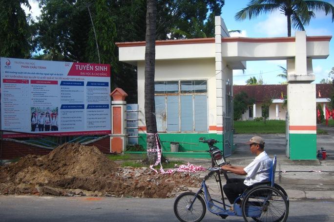 Trường ĐH Phan Chu Trinh phải trả mặt bằng trước ngày 1-12