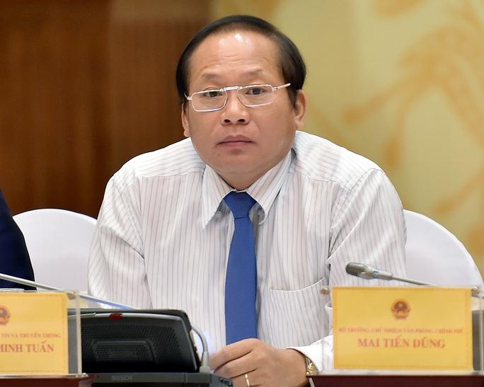 Bộ trưởng Bộ TT-TT Trương Minh Tuấn trả lời về việc tước thẻ nhà báo của ông Nguyễn Như Phong - Ảnh: Thế Dũng