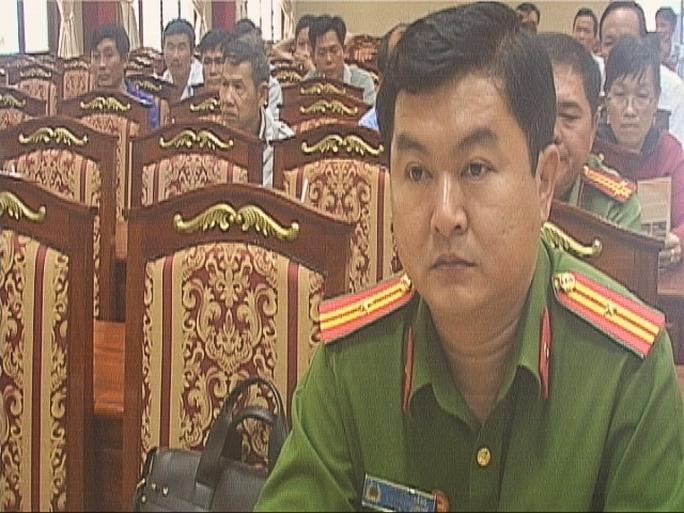 Thiếu tá Hà Minh Thắng, Phó Trưởng Công an TP. Thủ Dầu Một