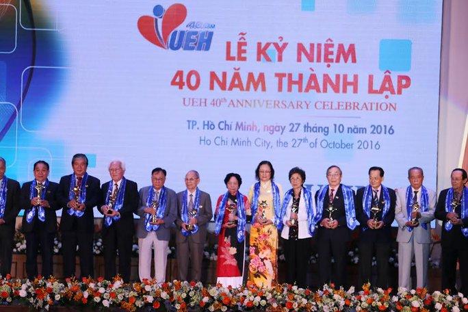 Trường ĐH Kinh tế TP HCM kỷ niệm 40  năm thành lập