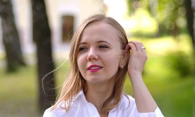 Cô Anna Kalynchuk. Ảnh: Facebook