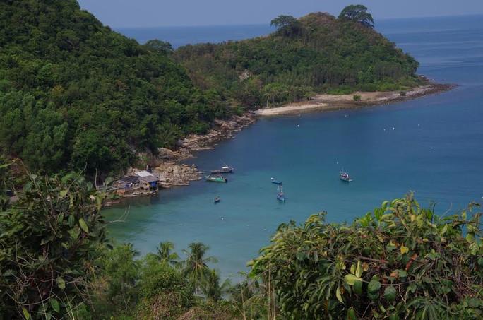 Đảo Nam Du trong lành, thơ mộng đang được nhiều du khách trong và ngoài nước đến tham quan